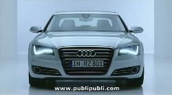"""Audi A8, """"Cuando el Progreso es Arte"""""""