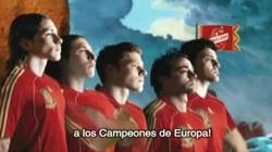 Cruzcampo con la Selección Española