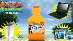 Sunny Delight y Monstruos contra Alienigenas
