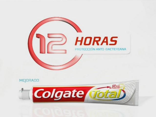 Colgate Total 12 horas de protección anti-bacteriana